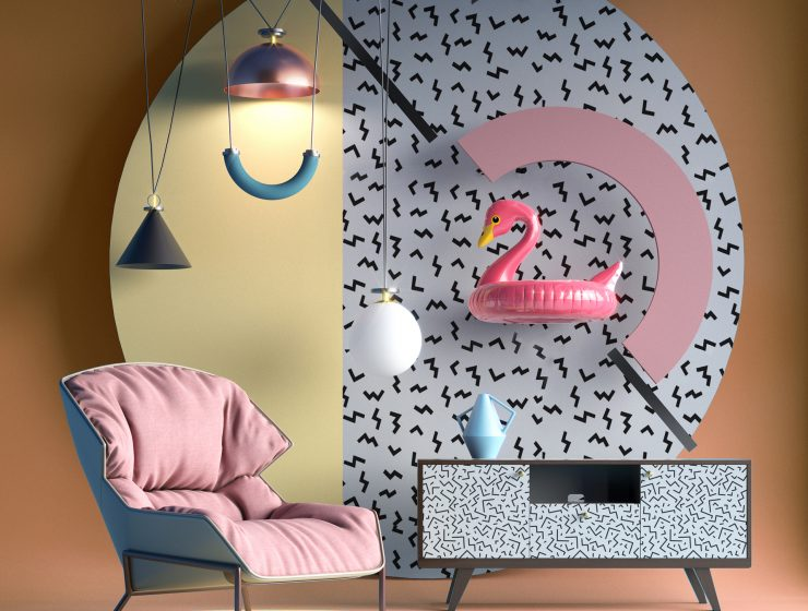 Trends 2018 Summer Flamingo in Decor