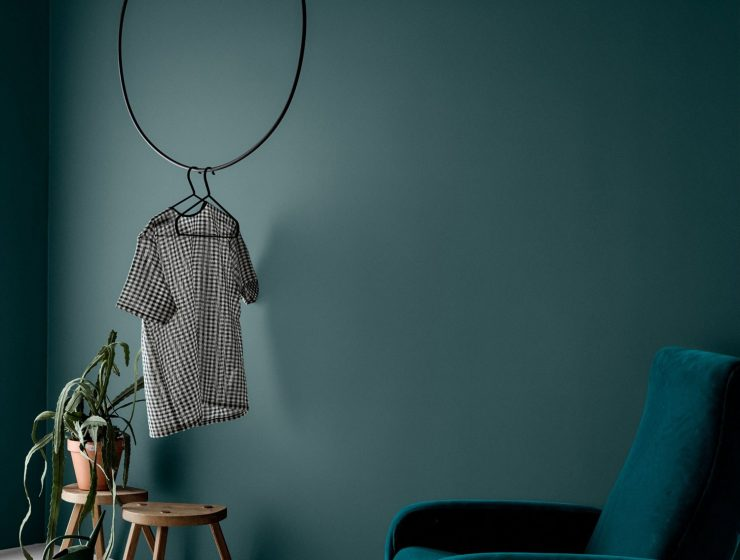 GREEN WALL PAINT | INTERIOR TREND
