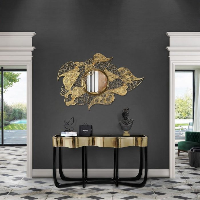 Striking Mirrors Decor Trend