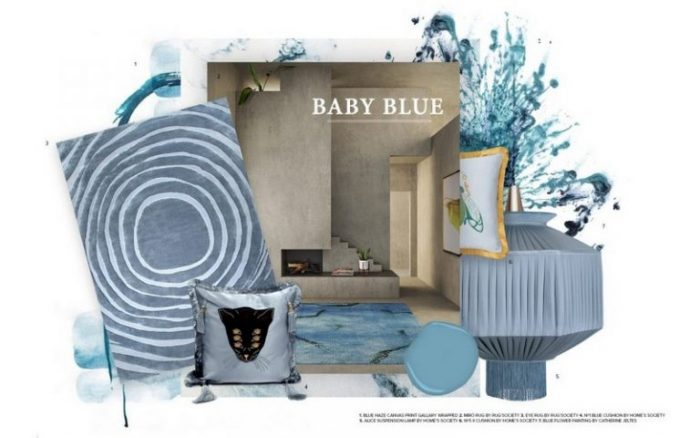 Baby Blue The Summer Color Trend