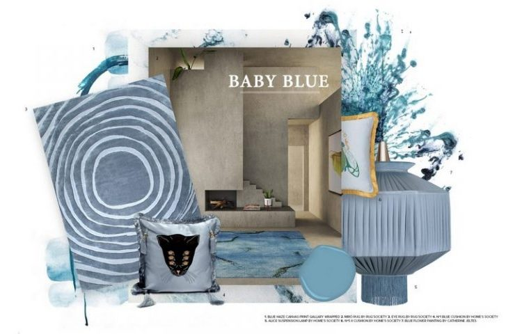 Baby Blue Color Trend