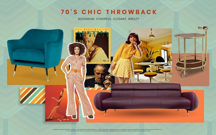 Moodboard Collection: 70's Chic Throwback