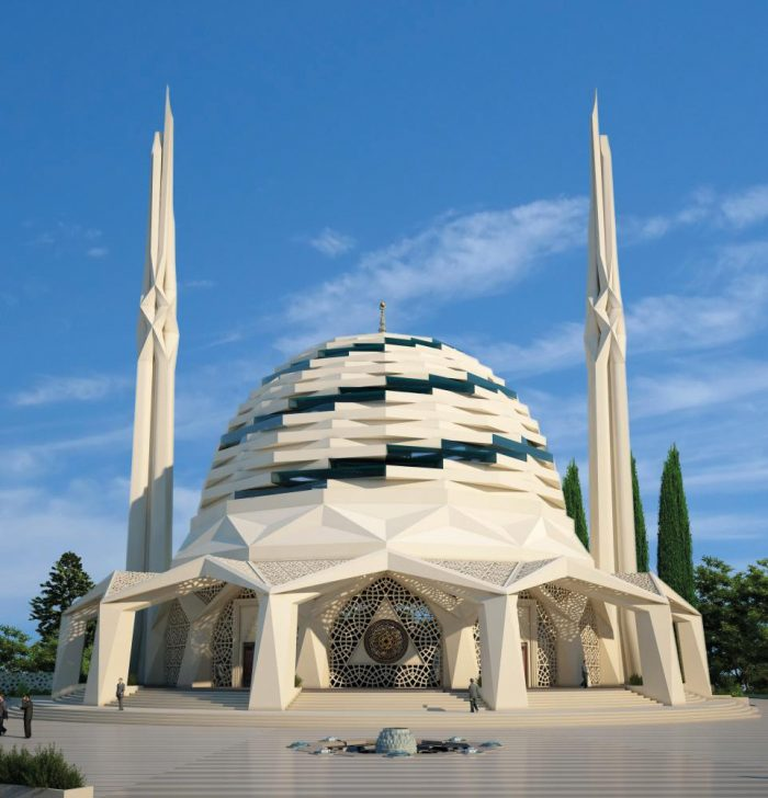 rmara University Faculty of Theology Mosque-Hassa Architecture Engineering Co