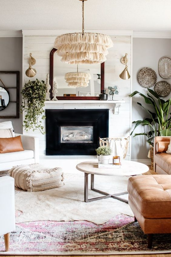 Natural Materials and Colors Trend
