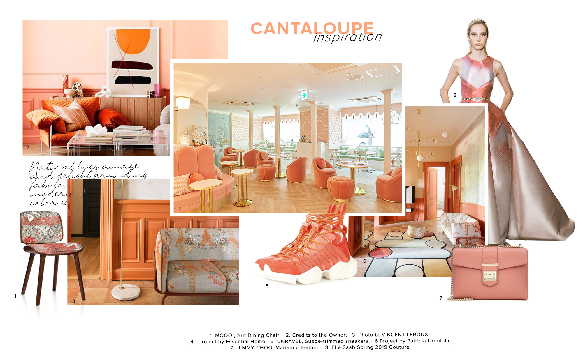Product Trends 2020.Moodboard Trends 2020 Cantaloupe Trend Moodboards Trendbook