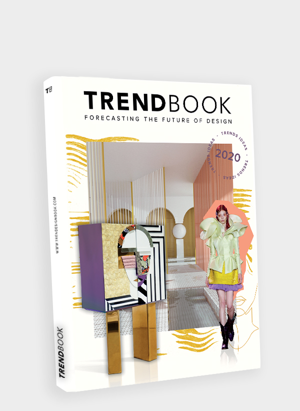 Trend forecast for upcoming seasons colours, materials and interiors