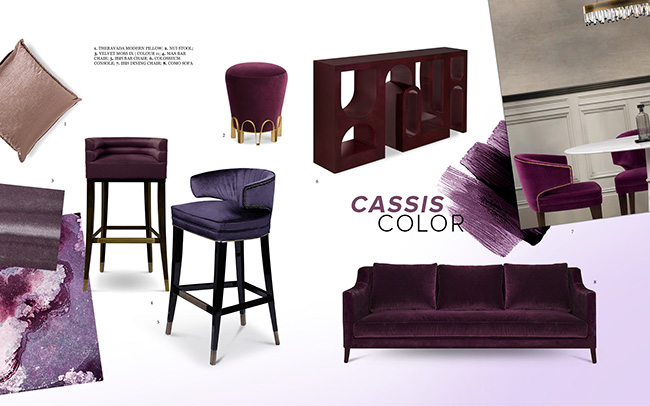 Cassis Color Trends 2019