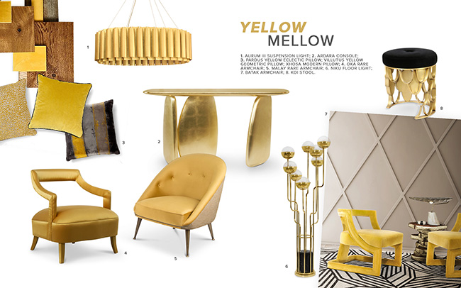 Mellow Yellow Color Trends 2019