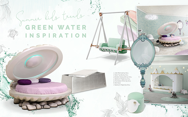 Kids Room | Green Water Inspiration