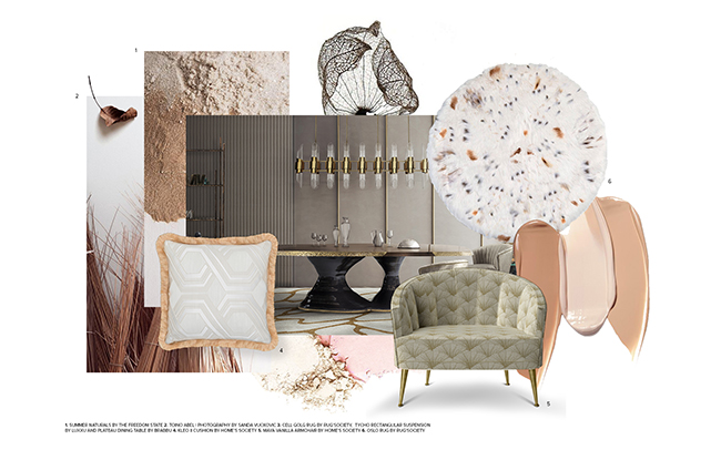 Moodboard Trends 2019 Naturalite