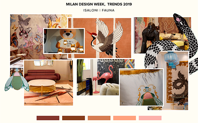 Animal Patterns Salone del Mobile 2019