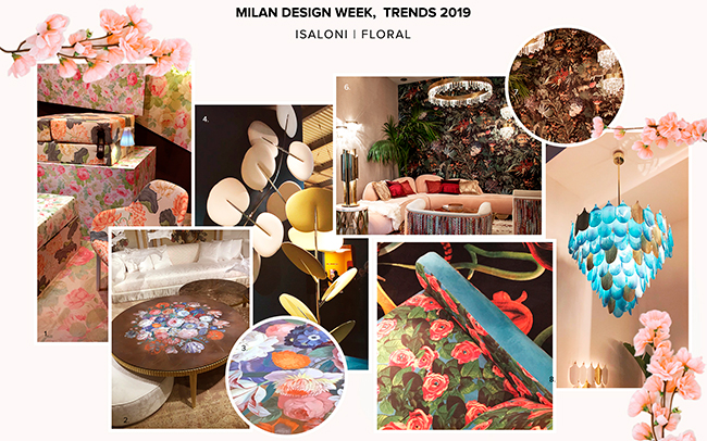Floral Patterns Salone del Mobile 2019
