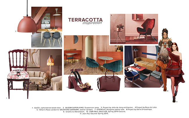 Moodboard Trends 2020 Terracotta
